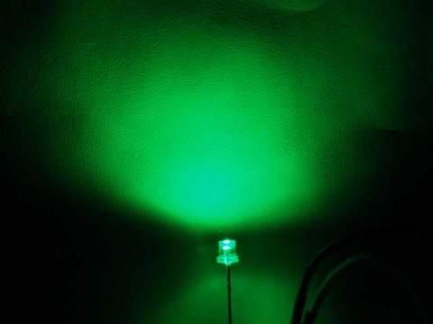 緑3mmCUT1500mcd50本セット