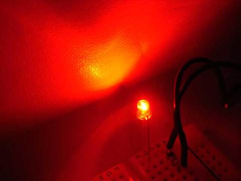 赤3mmCUT800mcd