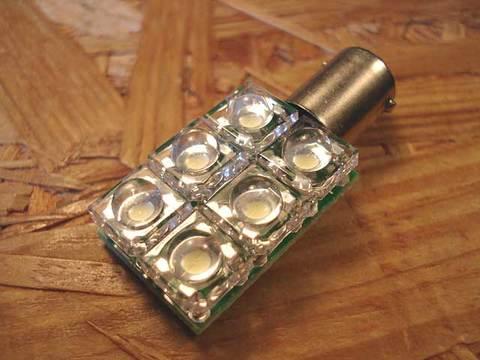 広角Flux6灯BA9s(90度ピン)