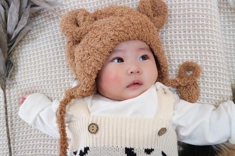 くまさんのbaby cap