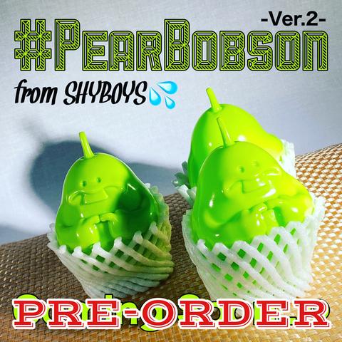 """【予約販売/PRE-ORDER】ペアーボブソン """"Ver. 2【Unpainted】""""/シャイボーイズ"""
