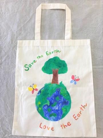 アートエコバック Love the Earth