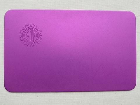 パープルプレート カードタイプ