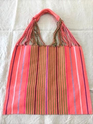 マヤ織りショルダーバック(手織り)