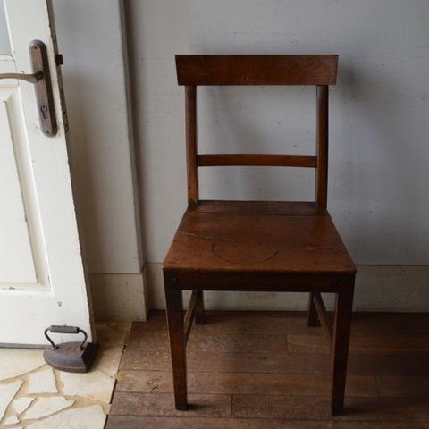 ジョージアン時代の田舎の椅子