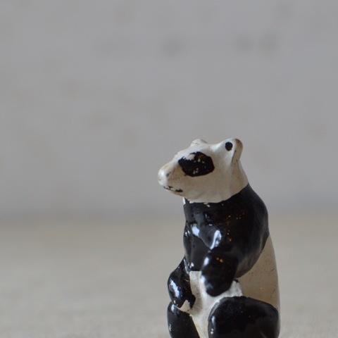 鉛のミニチュア パンダ
