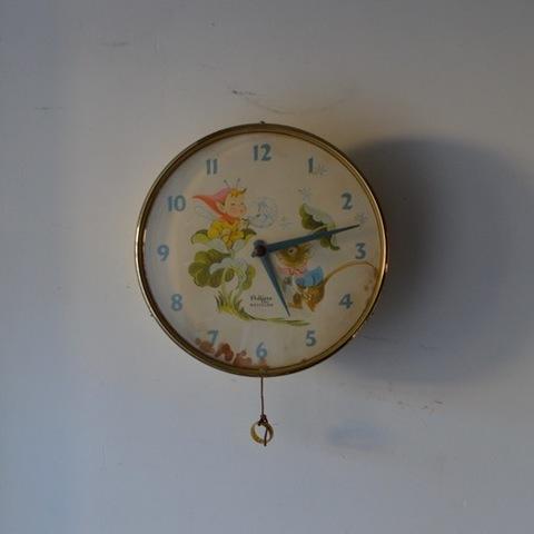 ペディグリー×ウェストクロック 壁掛け時計