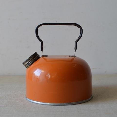 オレンジのアルミケトル