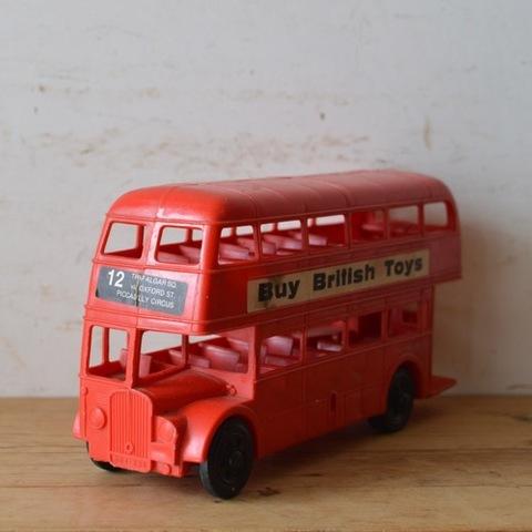プラスティック製 ロンドンバス