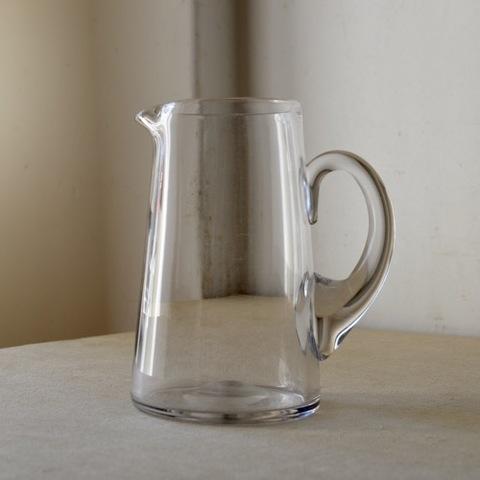 吹きガラスのウォータージャグ(L)