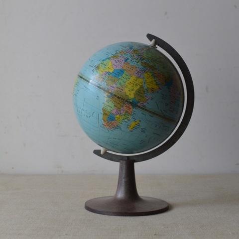 デンマーク製の地球儀