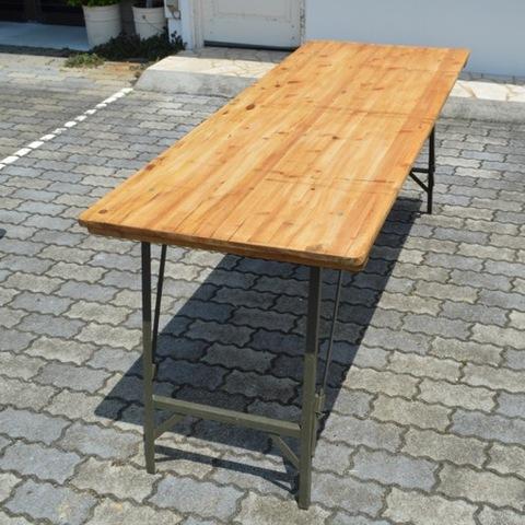 パイン フォールディングテーブル
