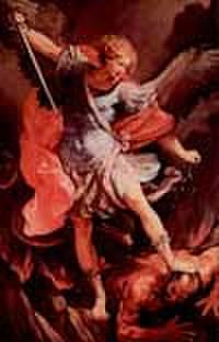 大天使聖ミカエル お祈りカード