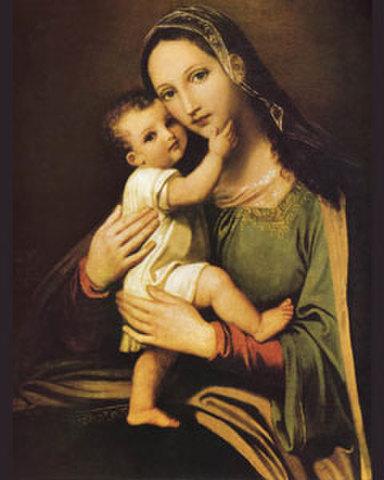 ご絵「奇跡の御助けのマリア」