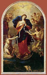 結び目を解く聖母マリア お祈りカード