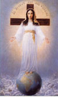 ご絵「すべての民の御母」(37×60cm)