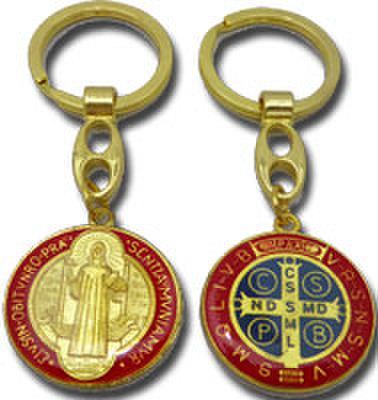 聖ベネディクトのキーホルダー