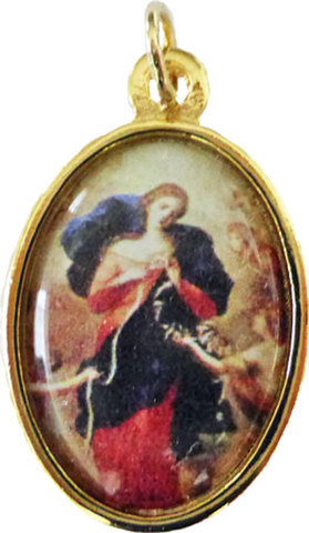結び目を解く聖母マリアのメダイ