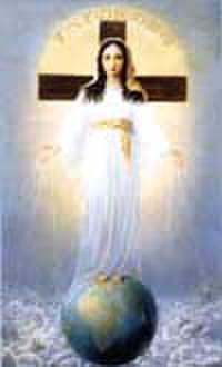 すべての民の御母 お祈りカード