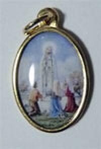 ファティマの聖母のメダイ