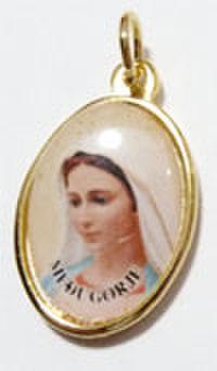 メジュゴリエの聖母のメダイ