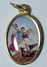 大天使聖ミカエルのメダイ