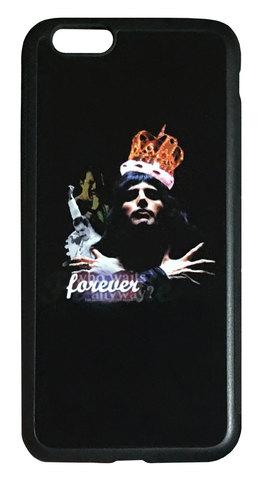【Queen/Freddie Mercury】クィーン フレディー・マーキュリー「foreber」iPhone6/iPhone6s シリコン+ハードケース⭐️全国送料無料