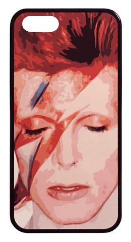 【David Bowie】デヴィット・ボウイ アラジン・セイン iPhone5/5s/SE(第1世代) ハードカバー ケース