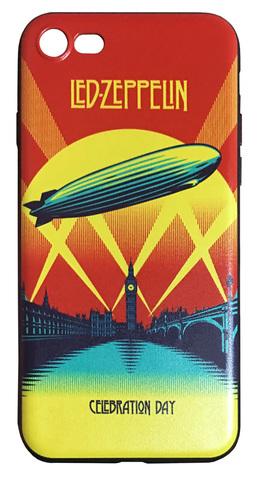 【Led Zeppelin】レッド・ツェッペリン「Celebration Day」iPhone7/ iPhone8 シリコンカバー TPUケース