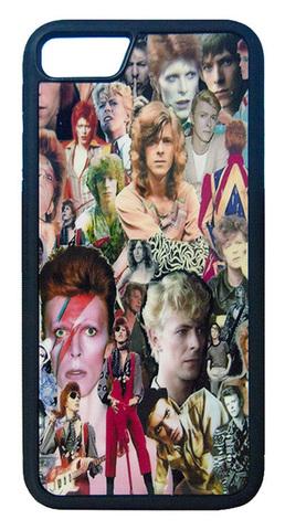 【David Bowie】デヴィット・ボウイ カレッジ iPhone7/ iPhone8 ハードカバー