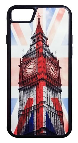 【Union Jack/ Big Ben】ユニオンジャック×ビックベン iPhone7/ iPhone8 ハードカバー ケース