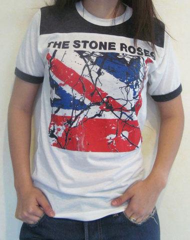【Stone Roses】ストーン・ローゼス ユニオンジャック Tシャツ