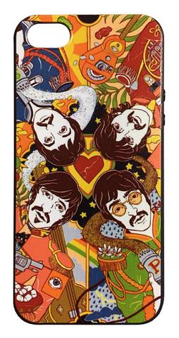 【The Beatles】ザ・ビートルズ「サージェント・ペパーズ・ロンリー・ハーツ・クラブ・バンド」iPhone5s/iPhoneSE(第1世代)シリコン TPUケース