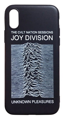 【Joy Division】ジョイ・ディヴィジョン「UNKNOWN PLEASURES」iiPhoneX/iPhoneXS リコン TPU ケース
