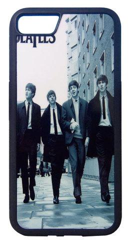 "【The Beatles】ザ・ビートルズ ""ON AIR LIVE AT BBC"" モノクロ iPhone7/  iPhone8ハードフォンカバー"