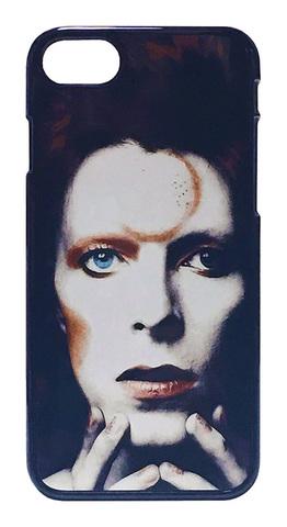 【David Bowie/Ziggy Stardust】デヴィット・ボウイ ジギー・スターダスト iPhone7/ iPhone8 ハードフォンカバー⭐️送料無料
