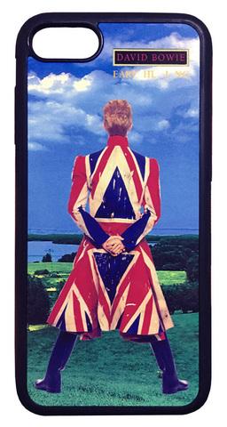 【David Bowie】デヴィット・ボウイ「アースリング」 iPhone7/ iPhone8  ハードカバー ケース