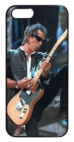 【The Rolling Stones/Keith Richards】ザ・ローリング・ストーンズ「キース・リチャーズ ライブ」iPhone5/5s/SE ハードケース
