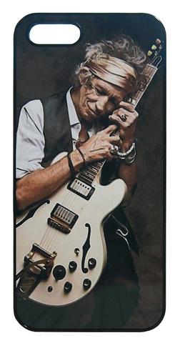 【The Rolling Stones / Keith Richards】ザ・ローリング・ストーンズ「キース・リチャーズ ギター」iPhone5/5s/SE ハードカバー