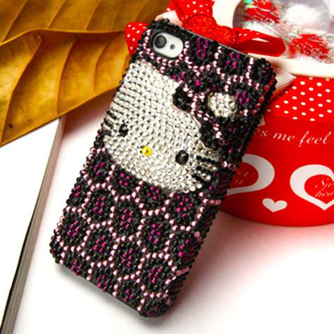 【Kitty】キティ 3Dデコ電 iPhone5/5s/SE カバー
