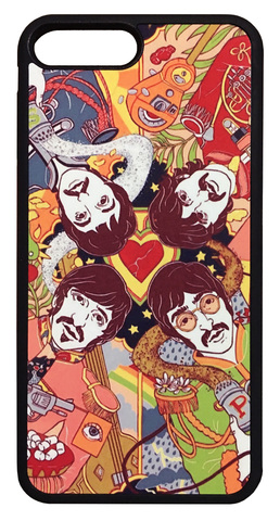 【The Beatles】ザ・ビートルズ「サージェント・ペパーズ・ロンリー・ハーツ・クラブ・バンド」iPhone7Plus/iPhone8Plus ケース