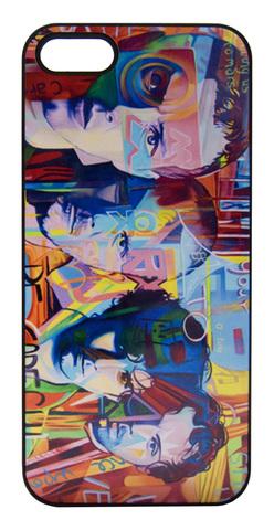 【Coldplay】コールドプレイ 「ジョシュア・ノートン」イラスト iPhone5/5s/SE ハードケース