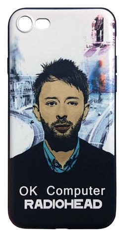 【Radiohead】レディオヘッド「OK Computer」iPhone7/ iPhone8 シリコン TPUカバー ケース