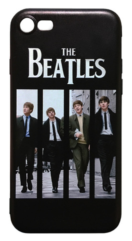 【The Beatles】ザ・ビートルズ「ON AIR LIVE AT BBC」iPhone7/ iPhone8 シリコン TPUカバー ケース