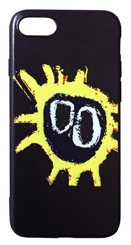 【Primal Scream】プライマル・スクリーム スクリーマデリカ iPhone7/ iPhone8 / iPhoneSE(第2世代)ケース ブラック(サイド:黒)