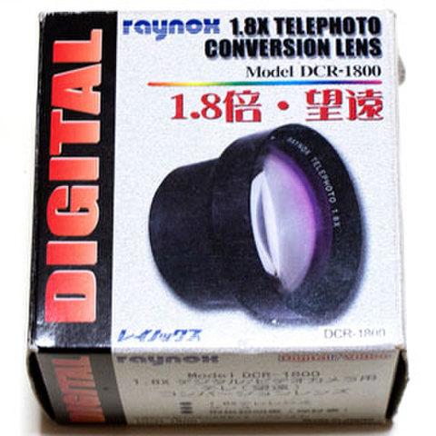 Raynox レイノックス コンバージョンレンズ DCR-1800 1.8X