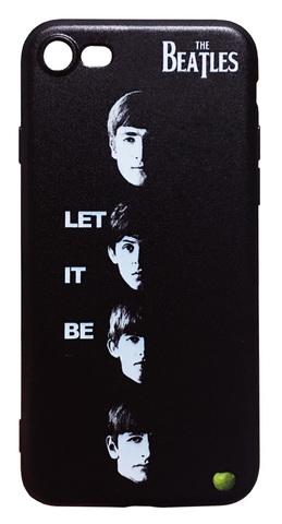 【The Beatles】ザ・ビートルズ「レッド・イット・ビー」iPhone7/iPhone8 シリコン TPUケース