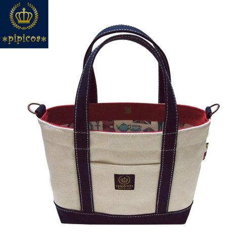 【*pipicoa*/London Icon Tote Bag】*ピピコア*「ロンドンアイコン」トートバッグ S-2