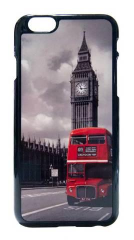 【London】ロンドン ビッグベン&ロンドンバス iPhone6/ iPhone6s ハードカバー