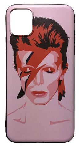 【David Bowie】デヴィット・ボウイ「Aladdin Sane」iPhone11 シリコン TPUケース